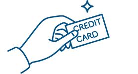 クレジットカードがお使いいただけます